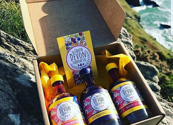 South Devon Liqueur Miniature gift set