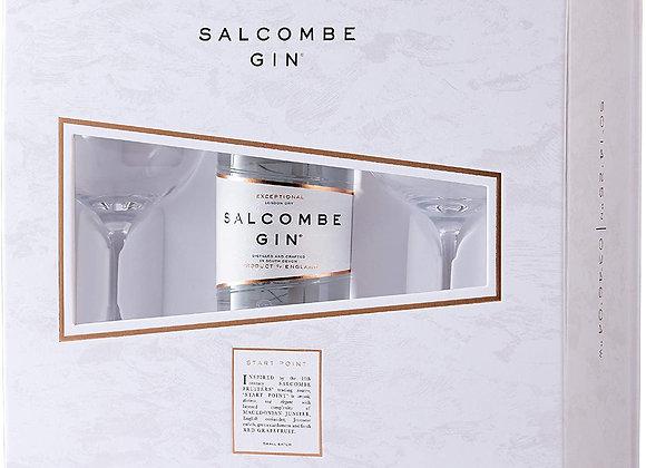 Salcombe Gin and Coppa Glass Gift Set