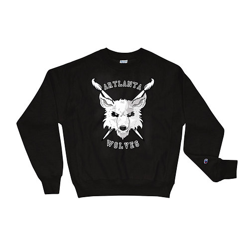ARTlanta Wolves Champion Sweatshirt
