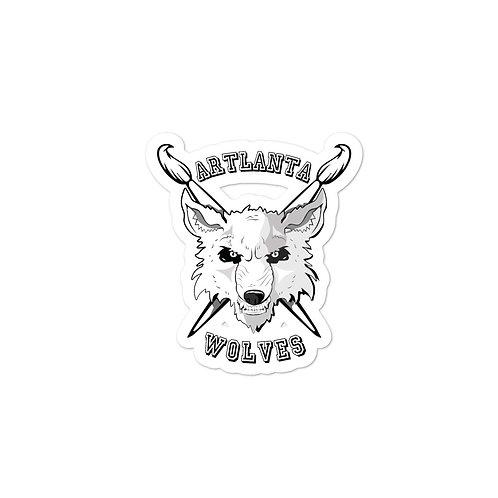 ARTlanta Wolves Sticker