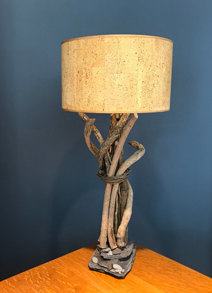Bittersweet lamp with recycled lamp shade