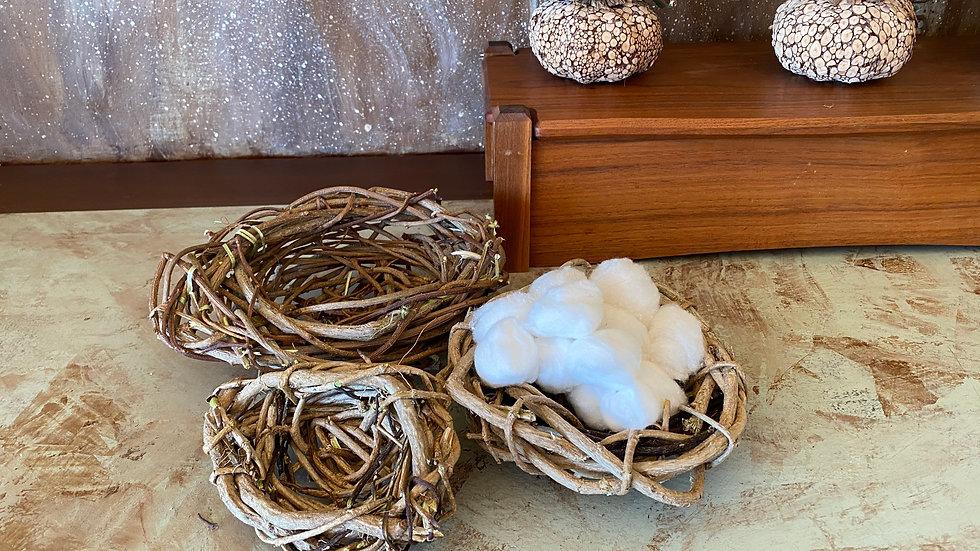 Bird Nest Basket Set