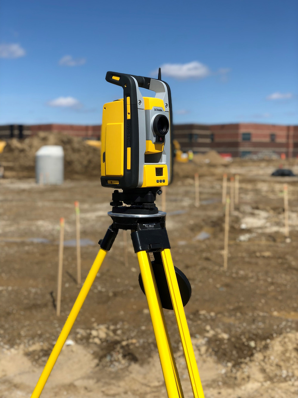 Field layout using Trimble Robotic Total Station for BIM design