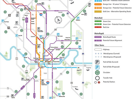 "City and Cap Metro Contemplate How to Make a ""Real City"" Transit System"