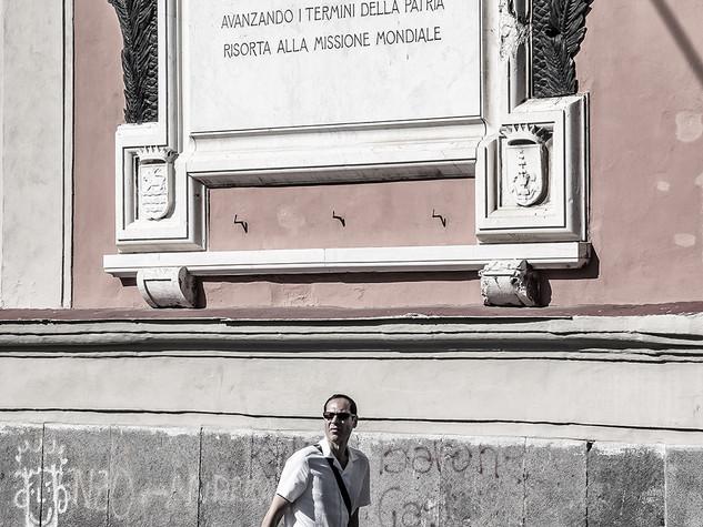 Via Cesario Console, Napoli, 2014