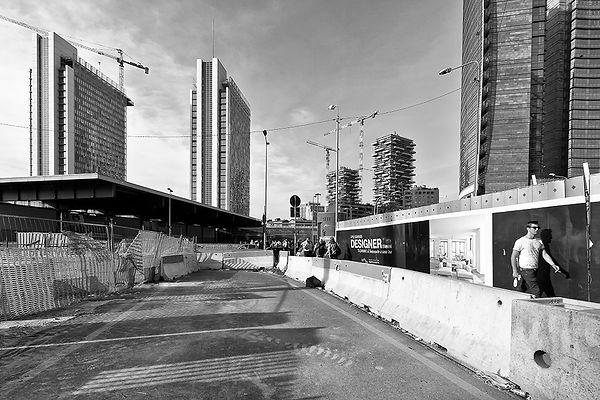 2_Cantieri stazione Garibaldi, viale Lui