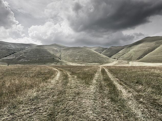 Pian grande di Castelluccio, Norcia, 2014