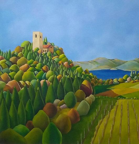 """Simone Bortolotti: """"Paesaggio 1/16"""""""
