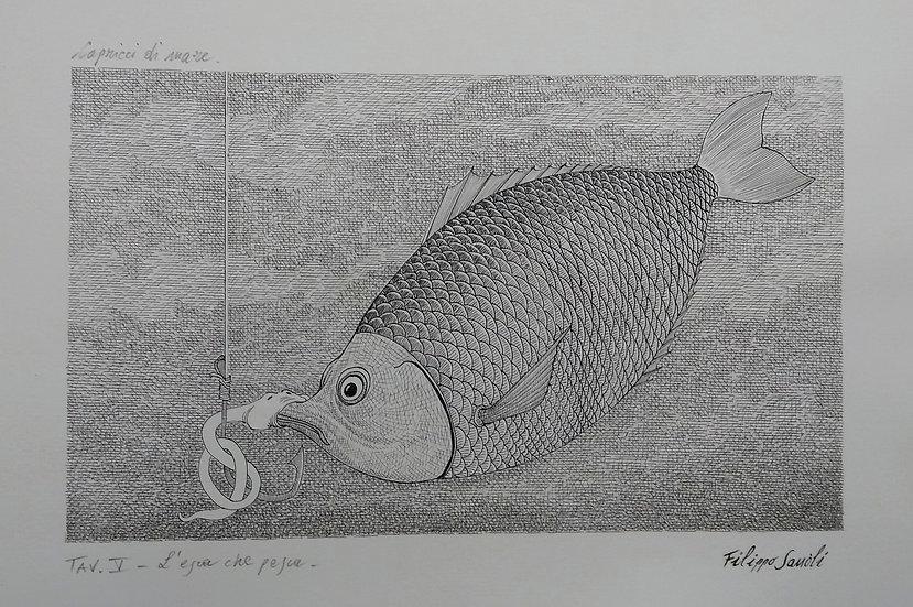 """Filippo Sassòli: """"L'esca che pesca"""""""