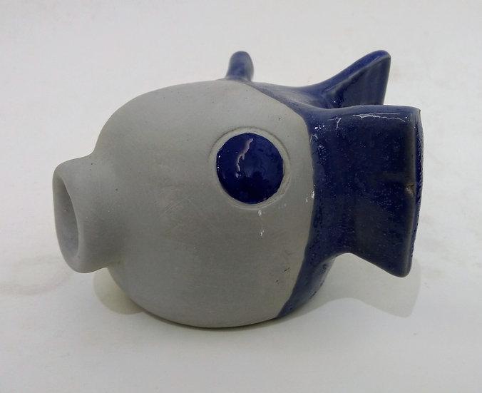 "Emanuele Scoppola ""Blue/gray fish"""