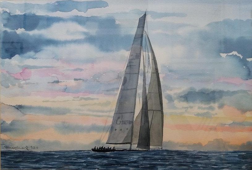 """Tommaso Manzi: """"Sailing"""""""