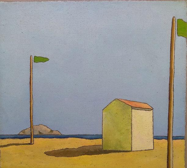 """Simone Bortolotti: """"Paesaggio 3/18"""""""