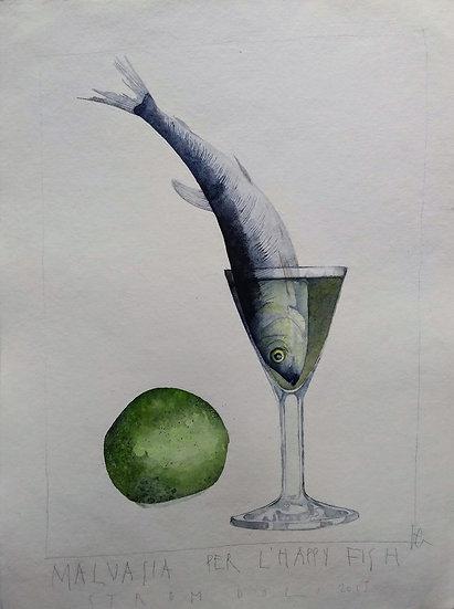 "Francesco Faina ""Malvasia per l'happy fish 2"""