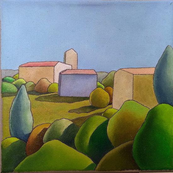 """Simone Bortolotti: """"Paesaggio 18/18 """""""