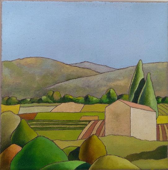 """Simone Bortolotti: """"Paesaggio 9/18"""""""