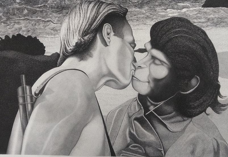 "Filippo Sassòli: ""Planet of the Apes: the kiss"""