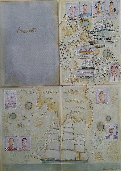 """Angelo Ibba: """"Passport"""""""
