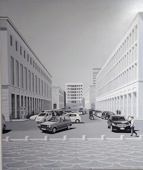 """Maurizio Ciccani """"Piazza della Concordia"""""""