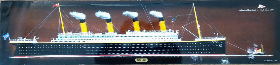 "Pino Criminelli: ""TITANIC (with tug)"""
