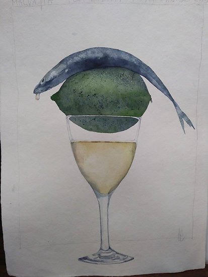 "Francesco Faina ""Malvasia per l'happy fish 1"""