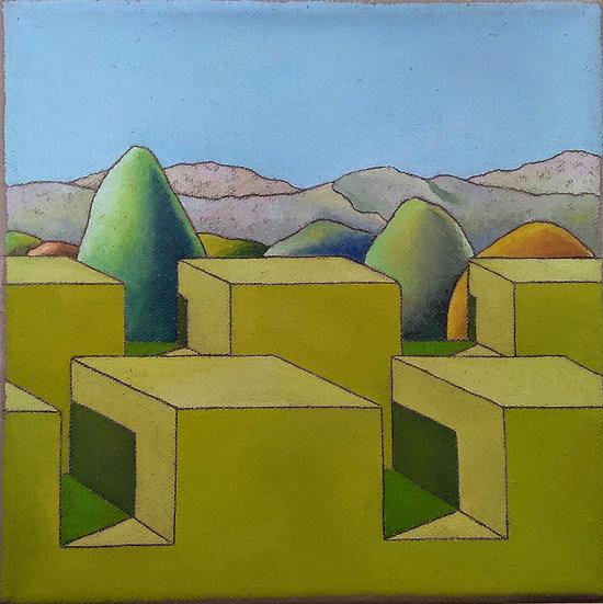 """Simone Bortolotti: """"Paesaggio 8/18"""""""