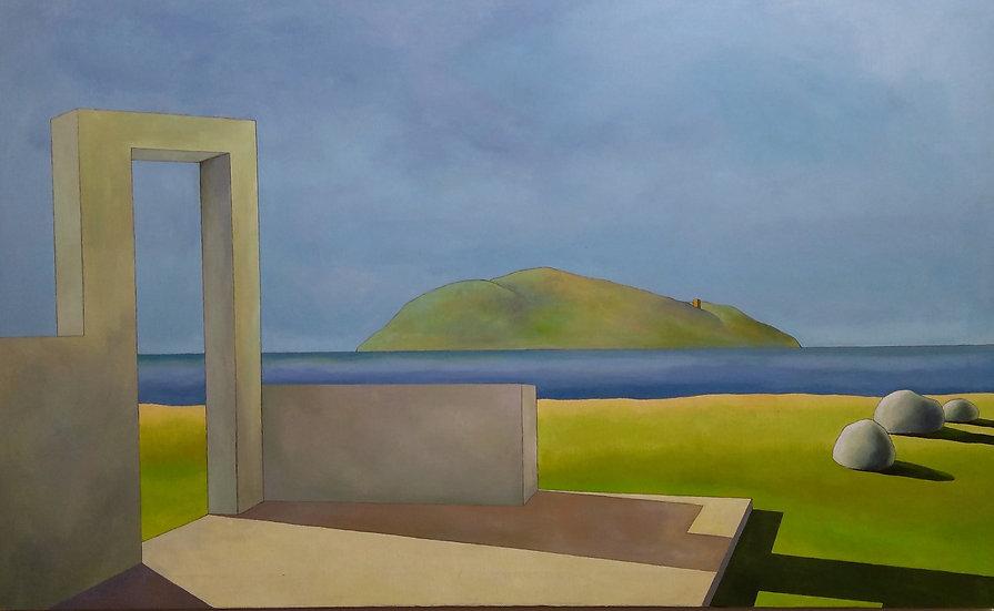 """Simone Bortolotti: """"Paesaggio  8/12"""""""