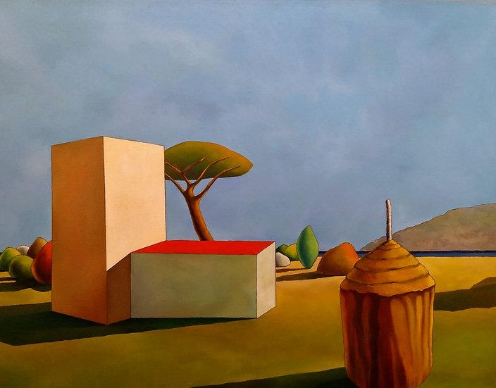 """Simone Bortolotti: """"Paesaggio 18/13"""""""