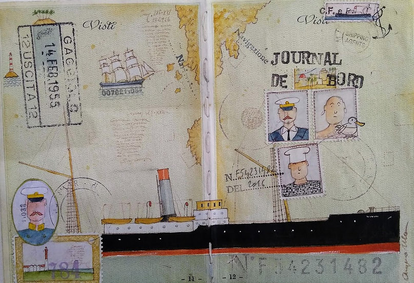 "Angelo Ibba: ""Journal de bord"""
