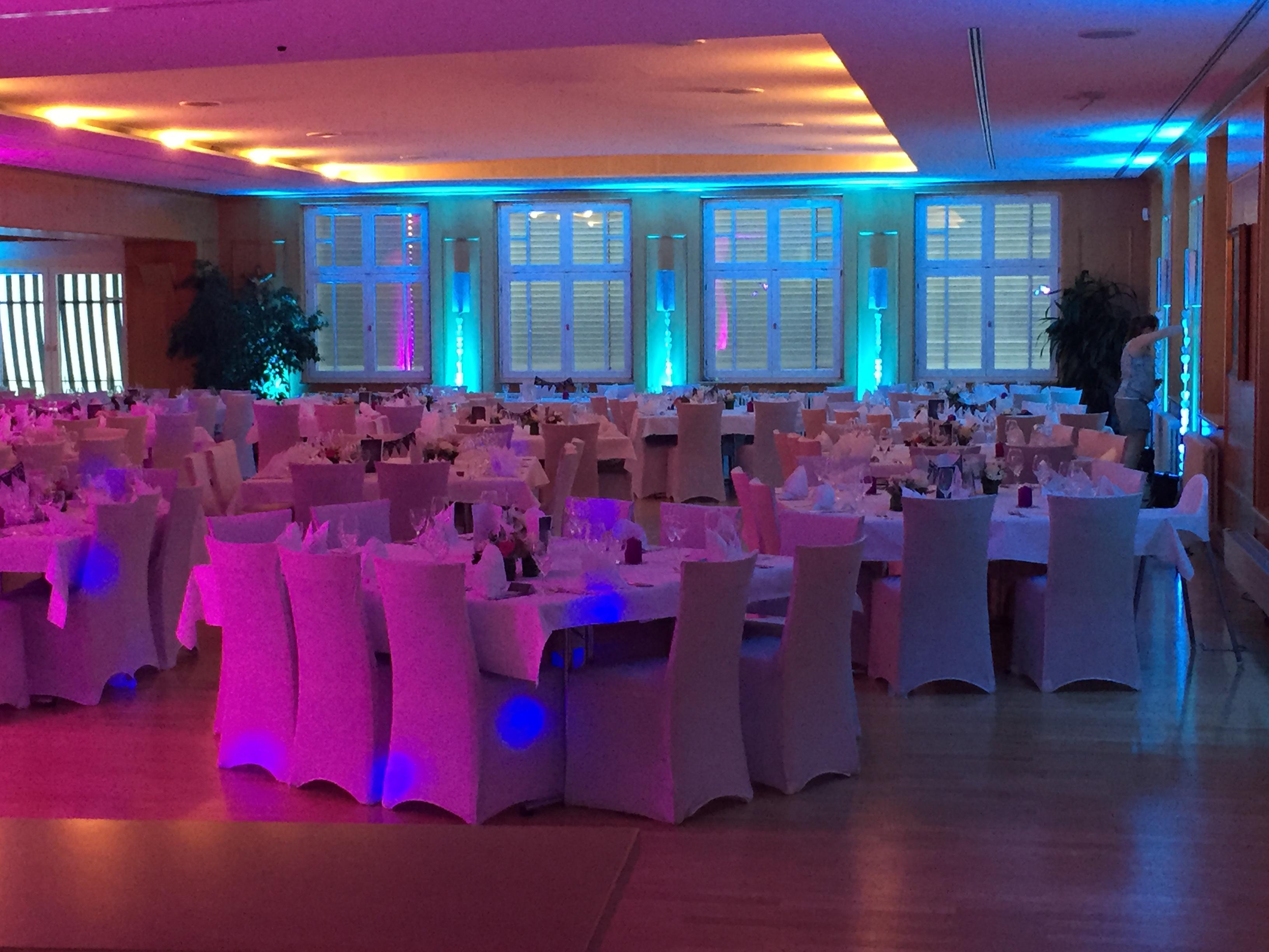 Veranstaltungstechnik Hochzeit