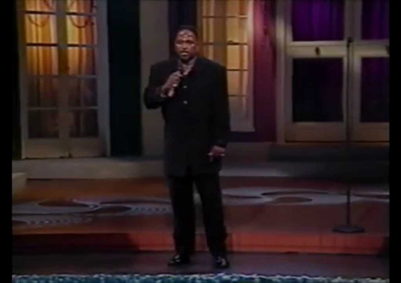 """CARL STRONG """"Live from New Orleans"""" on BET's """"Comic View"""" Series."""