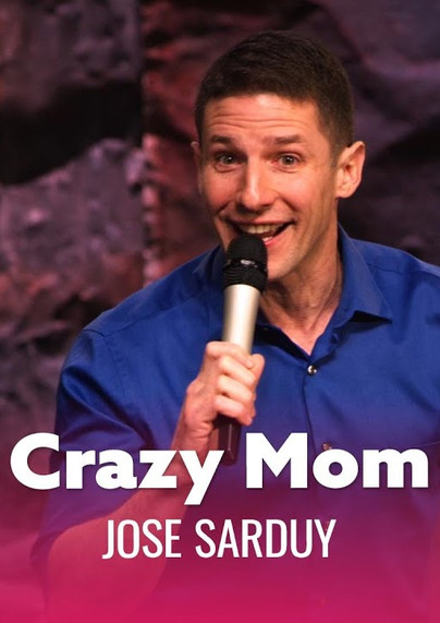 """DRY BAR COMEDY Clip  """"You Don't Know Your Mom Is Crazy Until You're Older.""""   JOSE SARDUY"""