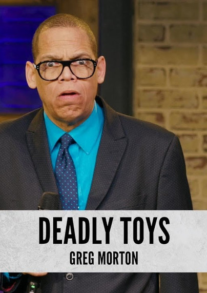 """DRY BAR COMEDY Clip   """"Toys That Would Kill You."""" GREG MORTON"""