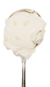 Rich White Chocolate Ice Cream loaded with White Chocolate Chips