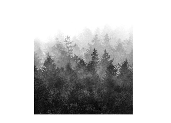 Trendy Nordic forest tapestry affordable free shipping