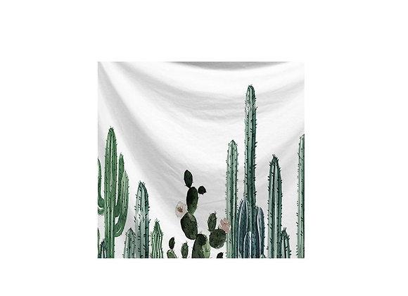 Trendy Cactus Tapestry