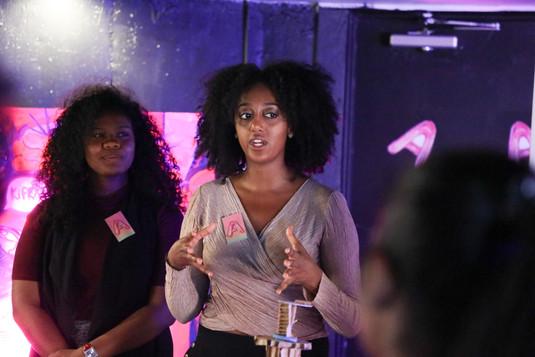 Aden Abebe and Fonna Seidu speak about their Virgins!
