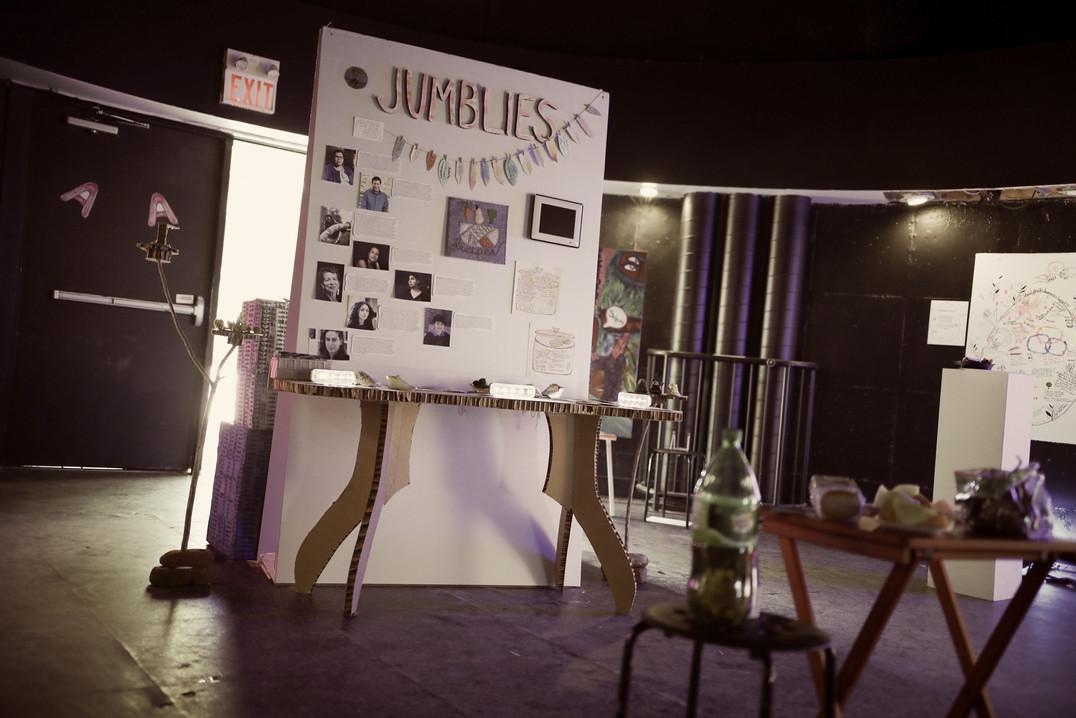 Work by Jumblies Theatre