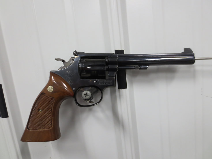 Smith & Wesson Model 14-3 .38s&w/special Single-Action Revolver