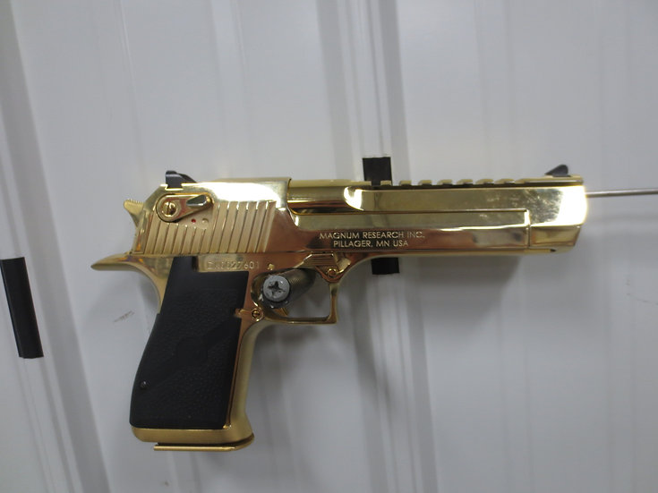 Magnum Research Gold Desert Eagle .50cal Semi-Automatic Handgun