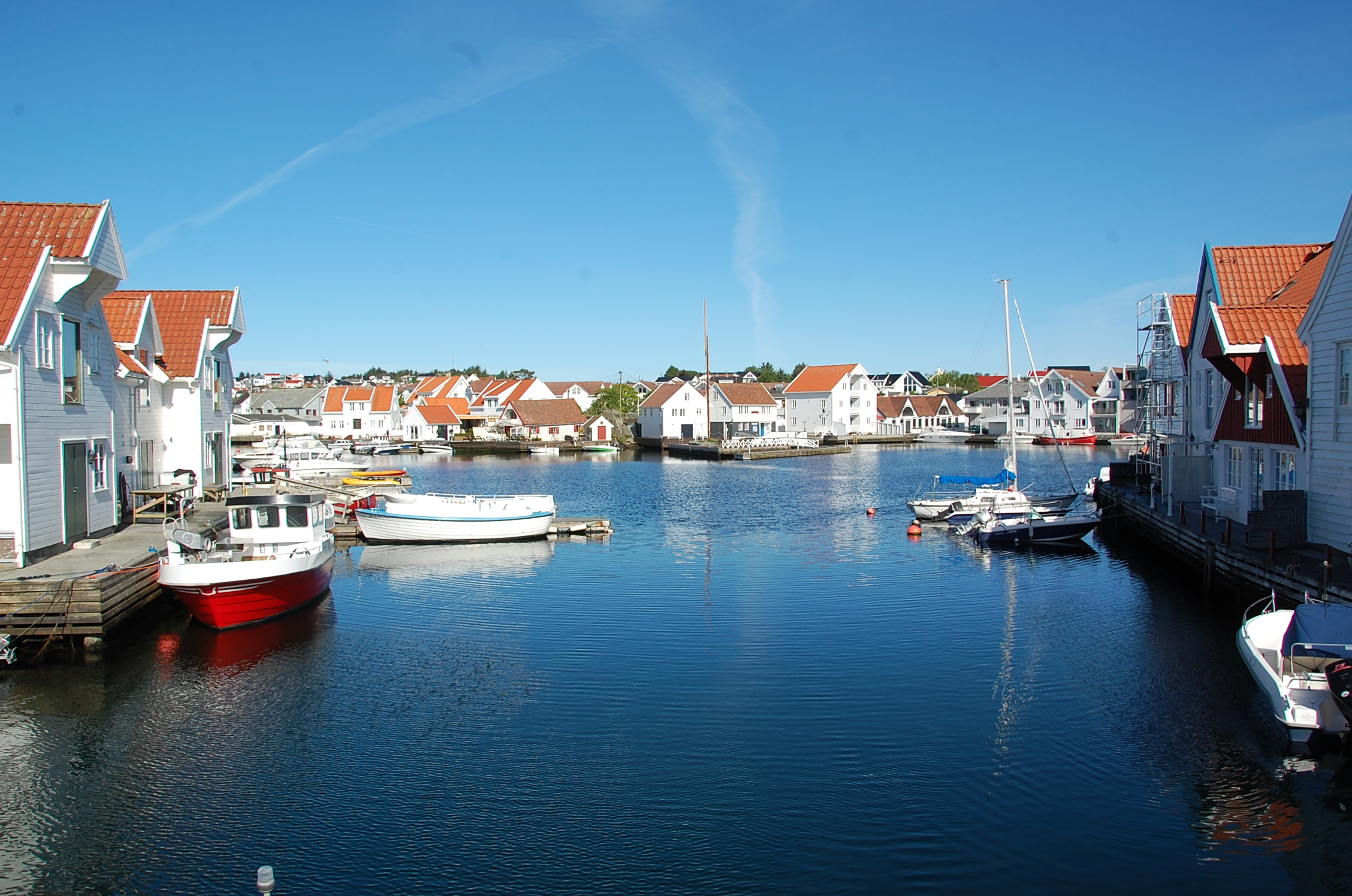 Beautiful view skudeneshavn