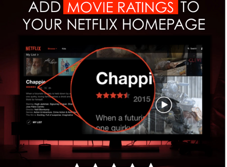 Add Movie Ratings to your Netflix Screen with Trim Extension – Which is the best movie-rating tool?