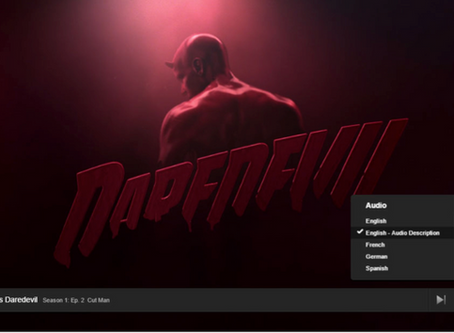 Netflix Audio Description - Watch Netflix with your eyes closed