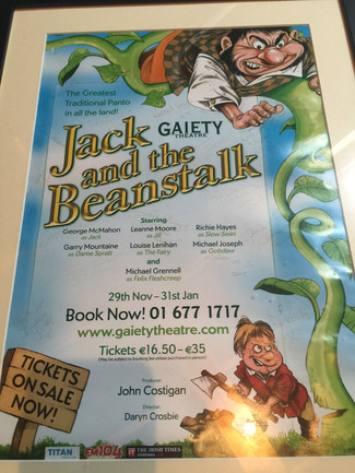Jack and the Beanstalk-Gaiety 2009