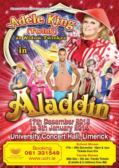 Aladdin - UCH Limerick 2013