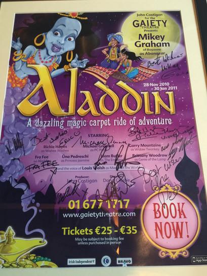 Aladdin - Gaiety 2010