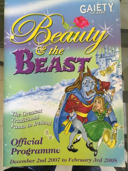 Beauty & The Beast-Gaiety 2007