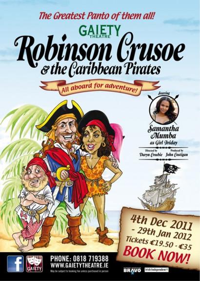 Robinson Crusoe - Gaiety 2011