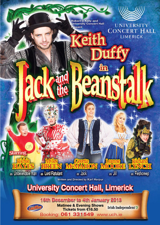 Jack and the Beanstalk - UCH Limerick 2014