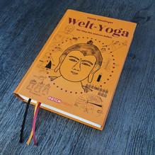 Welt-Yoga Buch von Dr. Georg Weidinger. Cover, Layout & Typografie Ribolits
