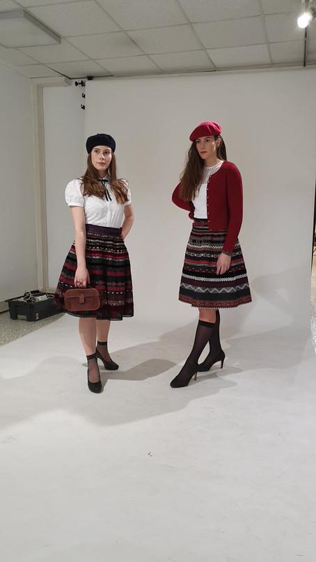 Fotoshooting Klampfl kleidet
